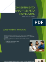 Consentimiento Informado y Secreto Profesional