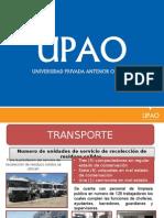Residuos Solidos Castilla Transporte