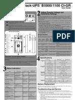 APC UPS BackUp 850/1100