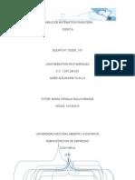 Trabajo de Matematicas Financiera