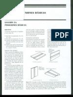 Posiciones y Uniones basicas Seccion I Cap 5 Manual de Soldadura (Koellhoffer)