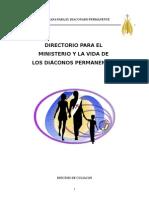 Directorio Para El Diaconado Permanente