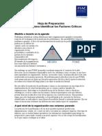 HP Taller Cómo Identificar Los Factores Críticos