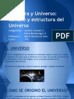 TIERRA Y UNIVERSO- Tamaño y Estructura Del Universo