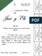 Invitacion Del Poncho