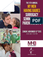 The 11th Annual NY Men Having Babies Surrogacy Seminar & Gay Parenting Expo - at the JCC in Manhattan