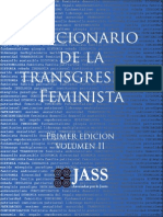 Diccionario de la transgresión feminista