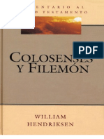 Colosenses y Filemon