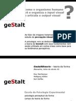 Gestalt e percepção visual