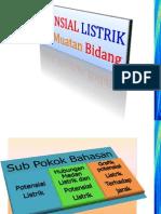 04-Potensial Listrik o Muatan Bidang 2013-2014