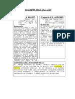 Formato de Comparaciones de Respuestas Del Equipo y Autores