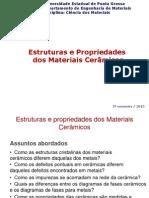 Estruturas e Propriedades Das Ceramicas