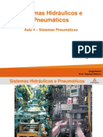 Aula 4a - Sistemas Hidráulicos e Pneumáticos - Anhanguera
