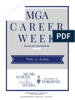 Career Week 2015 Delegate Handbook
