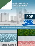 CONCEPTUALIZACIÓN DE LA INVESTIGACIÓN EDUCATIVA
