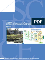 SUSTAIN--A Framework for Placement of Best Management Practices in Urban Watersheds to Protect Water Quality