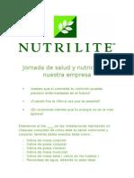 Jornada de Salud y Nutrición en Nuestra Empresa