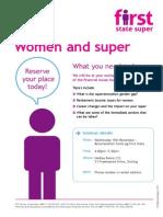Women and Super November 18