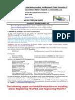 Installing and Registering FSUIPC4