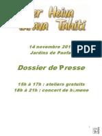 HTT Dossier Presse - Ss Photos