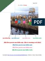 English-Spanish Helpful Handouts-Los colores y la ropa