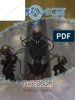 The Strange Mastodon
