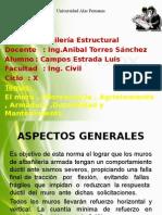 Albañileria Estructural. Expo. Campos