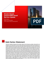 Oracle HCM Cloud  Presentation