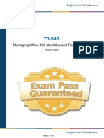 70-346 Exam Prep