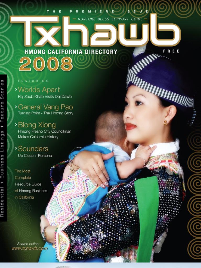 Txhawb Hmong California Directory 2008