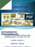 intrumentos prehispanicos