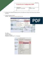 E-LINE Service Configuration MOP v2