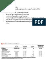 1 Properties of Enzymes 2014