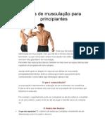 Guia de Musculação Para Principiantes