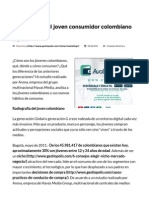 Radiografía Del Joven Consumidor Colombiano • GestioPolis