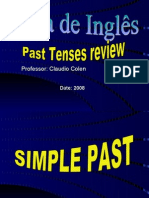 3 Ano - Past Tenses General Review