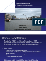 Dublin City Council presentation on the Samuel Beckett Bridge