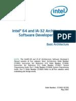 Intel Software Developer's Manual Vol1