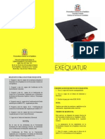 Brochure Exequatur