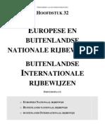 Europese en Buitenlandse Nationale Rijbewijzen in België