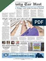 The Daily Tar Heel for Nov. 5, 2015