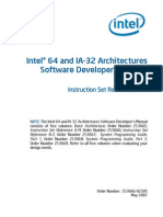 Intel Software Developer's Manual Vol 2A
