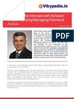 Interview with Ashwani Singla Founder and Managing Partner of Astrum