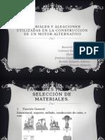 Materiales Del Motor