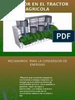 Mecanismo de Conversion Energia en El Tractor Agricola