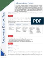 Detoxification/Cleanse Protocol