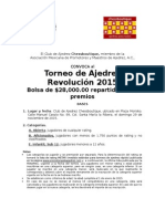Torneo Revolución 2015