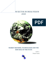 Telecom Sector in India Vision 2020