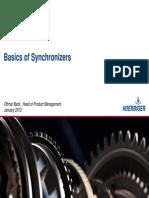 basics of synchronizers