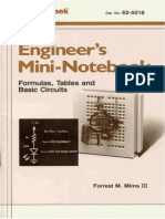 (eBook - Electronics) Radio Shack - Engineer's Mini-Notebook - Formulas, Tables, Basic Circuits